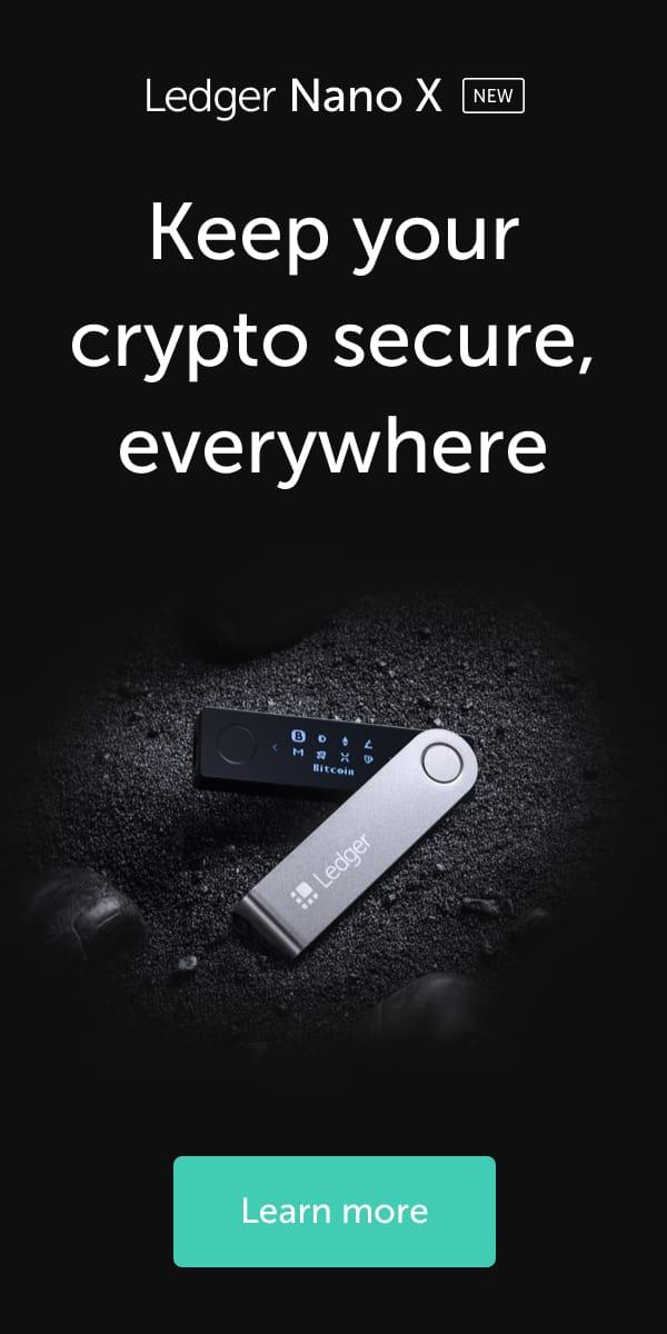 Ledger Nano X - The secure hardware wallet
